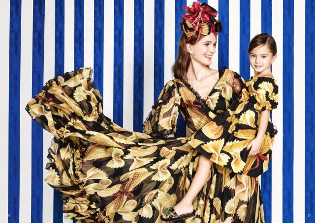 Campagna Dolce & Gabbana Mini me SS 2017 scattata da Federico Leone